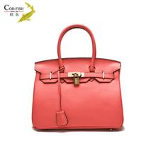 Hot selling lady trolley best handicraft matching italian shoe and set design characteristics fashion handbag ladies