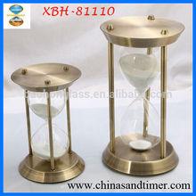 Decorative 10 minute Brass Sand Timer Antique for Tourist Souvenirs