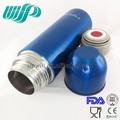 2014 hippo mini azul transparente ss304 380ml garrafa térmica