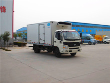 low fuel consumption freezer refrigerated cargo van with new type