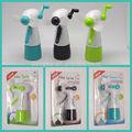 fábrica de produção de manivela e névoa de água de plástico abs mão decorativa ventiladores