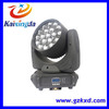 LED Zoom Moving Head Light 19 piece 4in1 LED Moving Beam Moving Head Light with RGBW Color Moving Head Light