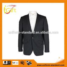 wool / TR fashion suit wholesale cheap latest black wool suits for men