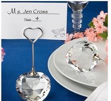 Hot Sale Gifts Card Sign Crystal Wedding Favor