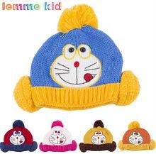 Z83102C 2014 autumn fashion knitted fleece children hats