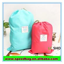 Nylon pull string bag small drawing bag draw string bag
