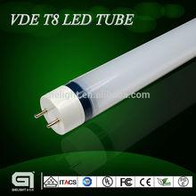 Awesome!!26mm Diameter T8 led tubular lamp VDE 1200mm 120lm/w 18 W 22W 6000k/4000k/3000k