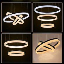 Modern led pendant light for home,3 circles led pendant lighting,led marine coral reef pendant lighting