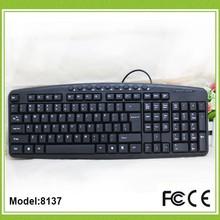 2014 new model ultra slim flat keyboard with 20 multimedia keys computer keyboard colored keys