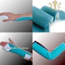 Medical splint iso approved orthopedic fiberglass casting finger toe splint production, ankle foot casting splint production
