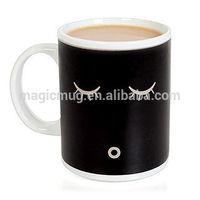 Ceramic Color Changing Fred & Friends 11oz Morning Wakeup Mug Wake Up Coffee Mug