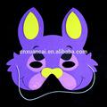 eva baratos e roxo do gato a máscara de animal para crianças no halloween festival de férias