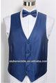 Formal de la boda de banda de color azul marino chaleco, chaleco de la boda y corbata