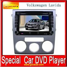 Hot sale double din car dvd player for Volkswagen Lavida