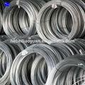 Calibre 10 por inmersión en caliente alambre galvanizado alambre de acero galvanizado( fábrica)