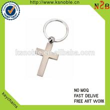 christmas jesus cross metal keychains