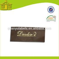 2014 high quality garment slik brand label,taffeta clothing printed label