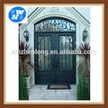 rústico portas de ferro forjado