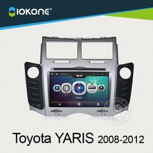 Shenzhen factory offer 2014 best selling touch screen toyota yaris gps navigation system