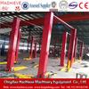 2 pillars car lifting machine for auto service center