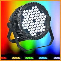 72pcs venta caliente Lampara PAR LED