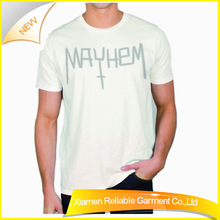One direction 100% microfiber polyester t shirt reversible