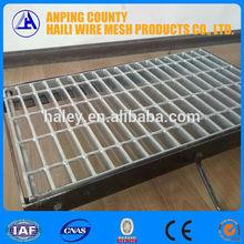 ชั้นบันไดตะแกรงเหล็กน้ำหนักจากโรงงานโดยตรงกับisoและbv