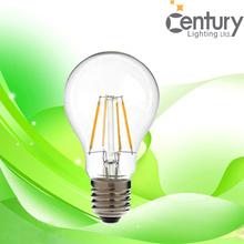 Dimmable 4W LED Lamps LED filament bulb 2pcs/lot led E27 led bulb leb light 360 degree A60 Bulb 40W replacment