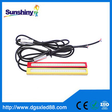 wholesale price pink color flexible led drl/ daytime running light
