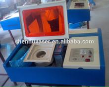 shenhui K40 rubber stamps laser engraver cost
