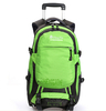 Freewheel Wheeled Book Bag Hiking Backpack Trolley With Padded Laptop Compartment