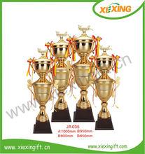 2014 modern souvenir big soccer trophy cup