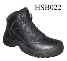 SM, full black dual density PU sole steel toe coal mining tough working security worker boots