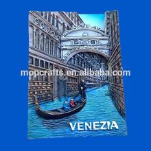 Polystone/Resin/Polyresin Venezia tourist souvenir fridge magnet