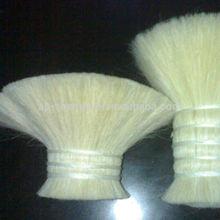 29-54mm super quality white goat Hair for brush material