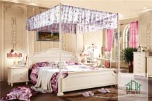 White Adult Bedroom Set Furniture HA-808# Princess Style Bed Fancy Princess Bedroom Set