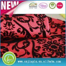 Moderno mejor venta de tela de encaje de gasa para mujeres