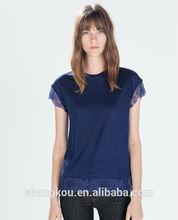 fashionable woman t shirt,t-shirt design,SHKHT0188