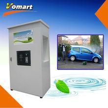 CE 80bar Coin/card operated self service high pressure car wash machine/self service high pressure washer hot water