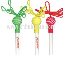 2015 hot selling lolly pen/ lollipop pen/ sugar-loaf pen