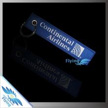 polyester brand name keychains/keyring