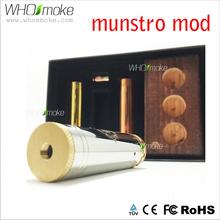 Alibaba China Supplier Wholesale Munstro Mod High Quality dry herb vaporizer exgo w3 munstro mod
