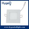 12W high brightness flat led square panel light