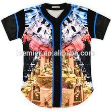 Design hot sell cheap red polyester baseball wear