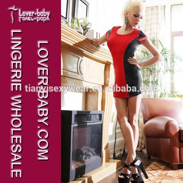 dia dos namorados casual festa vermelho e preto sexy meninas tubo mini vestidos clubwear