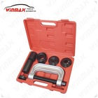 WINMAX 4 Truck Brake Anchor Pins 4 in 1 Ball Joint U Joint C Frame Press Service Kit WT04009