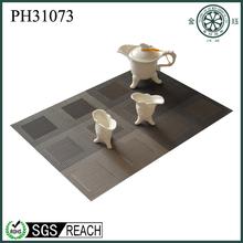 2014 new custom design bio-degradable fabric placemats