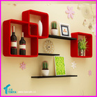 Unique Design Eco-friendly Plastic Wall Mounted Decorative Storage Acrylic Home Decor Wall Sticker China Furniture Manufacturer