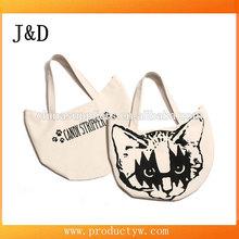 Kawaii Lovely Totoro Cartoon Cat Shopper Lunch Bag Tote Bag