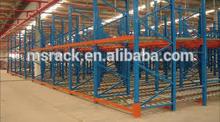 Maximum space utilization warehouse gravity sliding racking